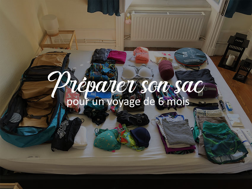Préparer son sac de backpacker